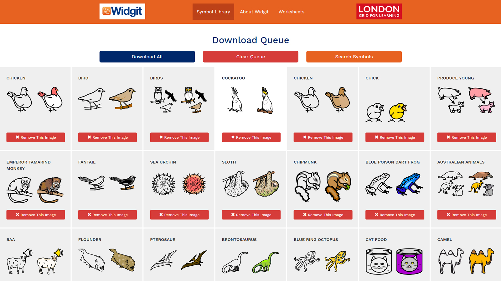 Widgit Summary Page London Grid For Learning