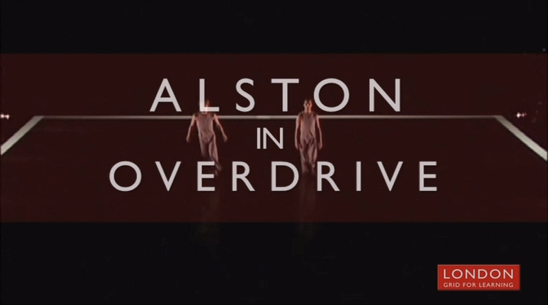 Alston in Overdrive - London Grid for Learning