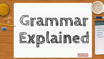 Image result for grammar explained lgfl
